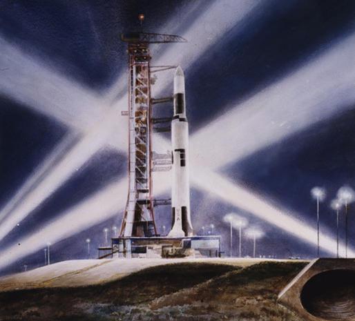 NASA's art treasures