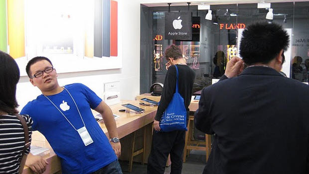 Fake Apple stores on the rise in China