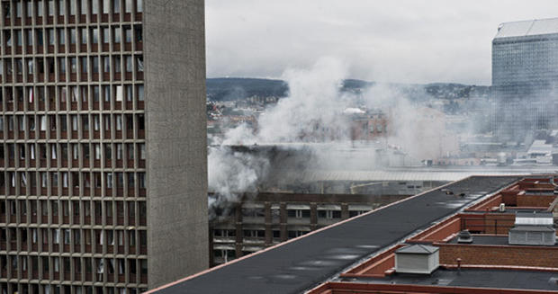 Bomb strikes Norway's capital