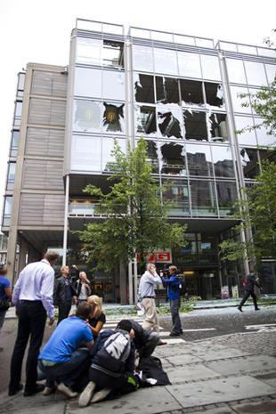 Bomb strikes Norway's capital