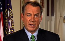 John Boehner's republican response on debt crisis