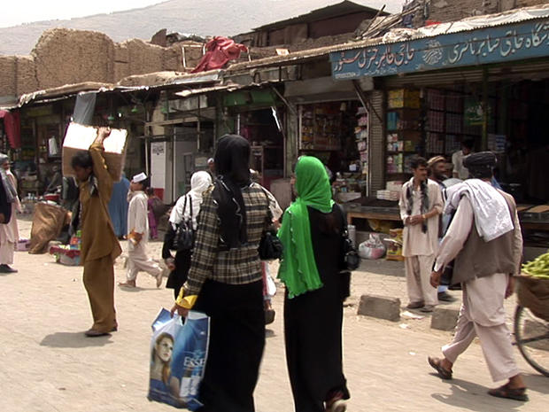 CBS News in Kabul: Behind the scenes