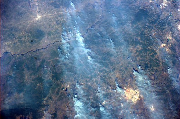 Tweets in space! Astronaut shares pics from space station