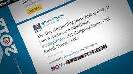 President Obama twitter feed