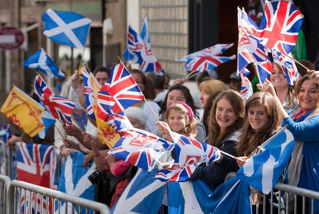 Royal wedding in Scotland