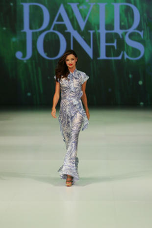Miranda Kerr at David Jones' Spring/Summer 2011 Fashion Launch