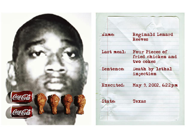 The last meals of executed criminals