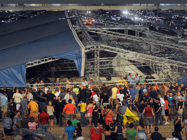Indiana Fair stage collapse