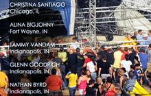 Stage collapses at Ind. state fair, 5 dead