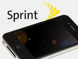 Sprint logo iPhone 4 removed screen