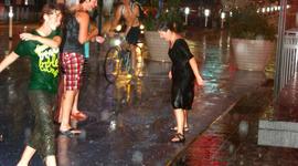 Hurricane Irene Times Square