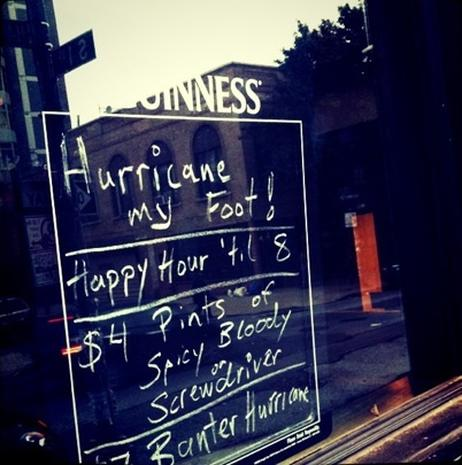 Incredible Hurricane Irene Instagrams