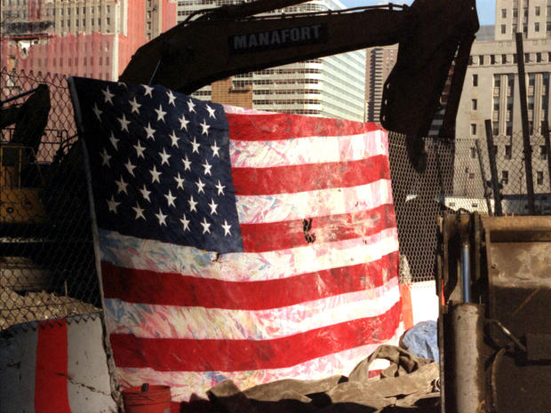 Flags from Ground Zero