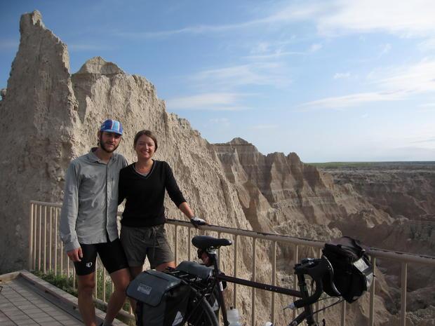 Cross-country bike ride honors dad, 9/11 victim