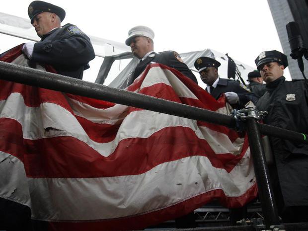 Flags from Ground Zero