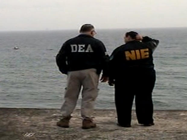 Chasing drug smugglers in the Caribbean