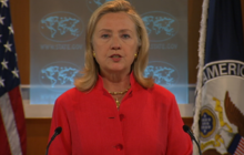 Clinton on Kabul attacks: We will not be intimidated