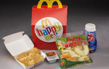 McDonald's healthy Happy Meal makeover