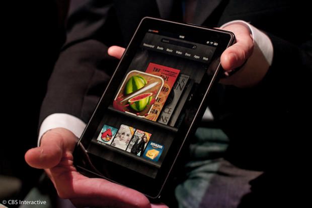 Amazon lights a Fire with its Kindle tablet