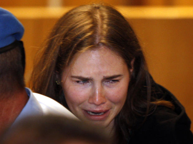 Amanda Knox not guilty of murder