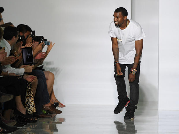 Kanye West's Paris Fashion Week debut