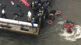 East river helicopter rescue