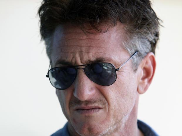 Sean Penn in Libya