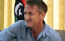 Sean Penn in Libya