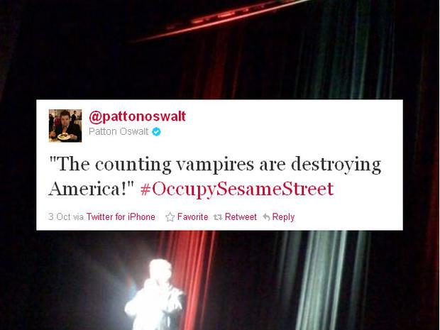 Funniest #OccupySesameStreet tweets