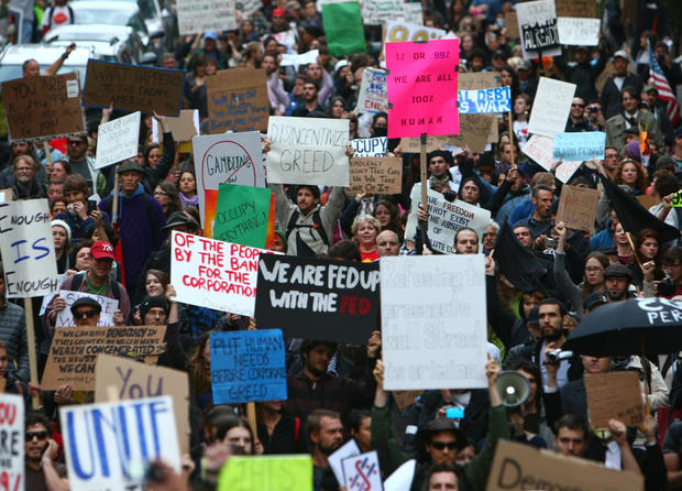 Anti-Wall Street protests, coast-to-coast