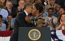 "Obama gushes over how ""cute"" first lady is"