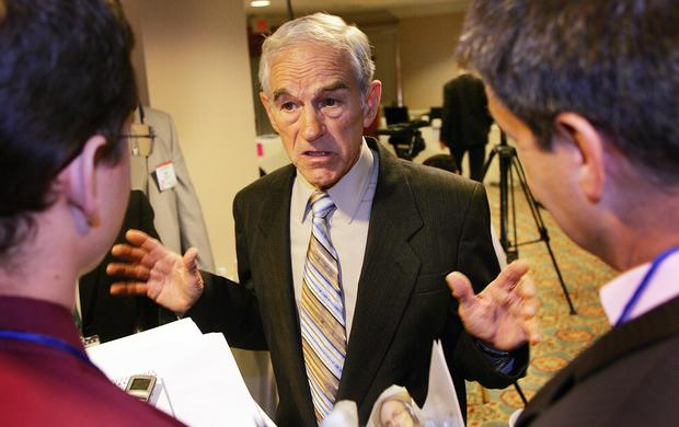 Ron Paul on the campaign trail