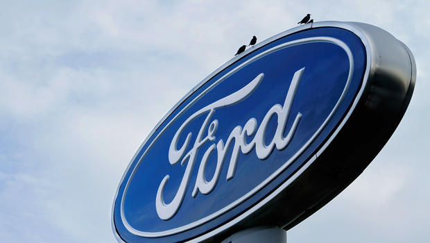 Ford recalls 485 000 suvs over sticky gas pedals cbs news for Ford motor company retiree death benefits