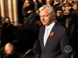 Julian Assange facing extradition to Sweden