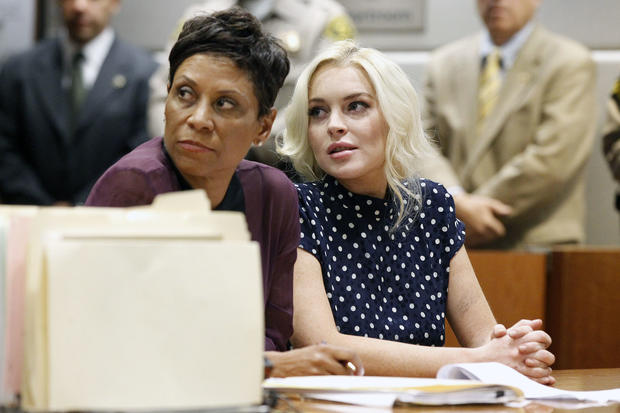 Lindsay's day in court