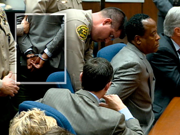 Conrad Murray placed on suicide watch hours after Michael Jackson conviction