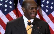 What did Cain's wife say about sex harassment claims?