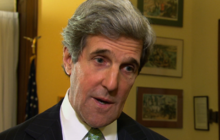 "Kerry says Dems' consciences ""clear"""