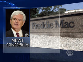 Gingrich's ties to Freddie Mac