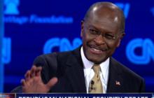 "Cain's on a debate ""Blitz"""