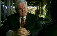 "Gingrich contends ""greater likelihood"" of defeating Obama"