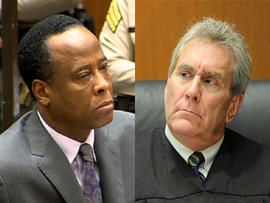 """Judge in Michael Jackson death trial chastises doctor for """"horrific violation of trust"""""""