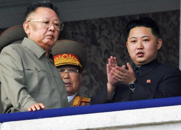 Kim Jong Un, Kim Jong Il