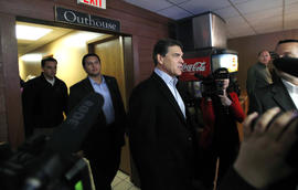 Rick Perry in Iowa