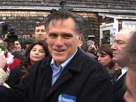 Romney likens Gingrich to Lucille Ball