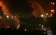 Russian nuclear submarine catches fire