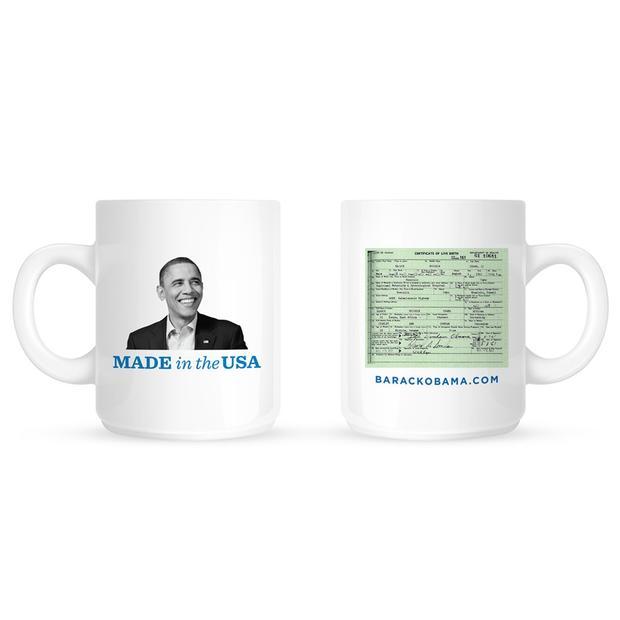 Obama mug birther