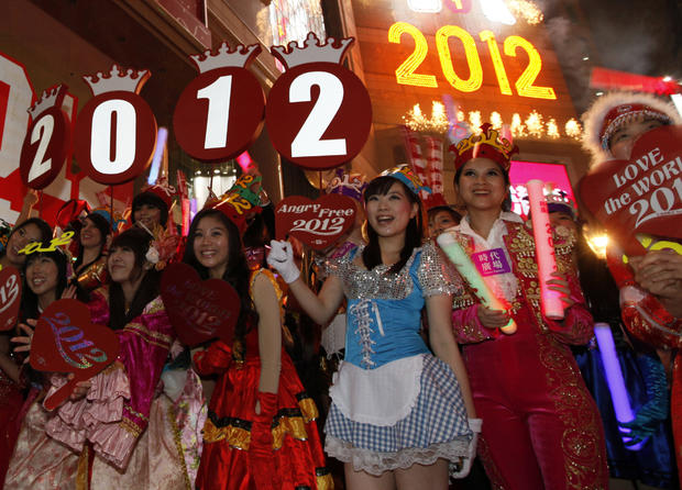 The world welcomes 2012