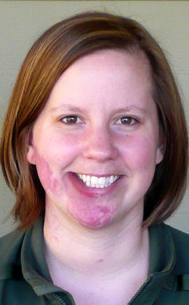 Park Ranger Margaret Anderson is seen in this undated photo provided by Mount Rainier National Park. Anderson, 34, was fatally shot Jan. 1, 2012, at the park in Washington state, according to the National Park Service.