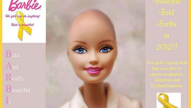 mattel to manufacture bald barbie doll barbie doll